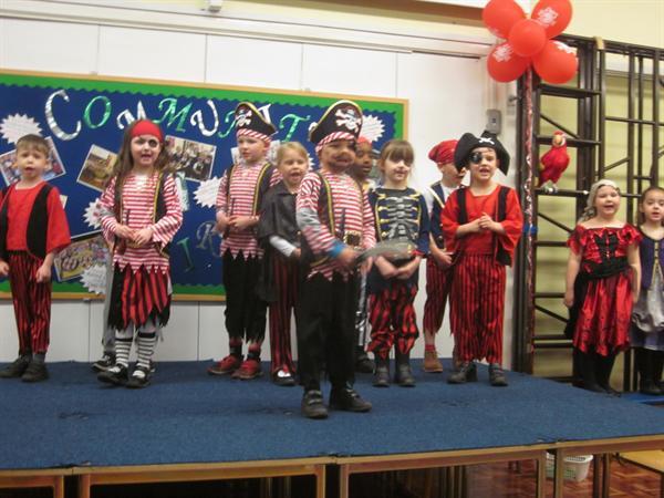 Year 1 Pirate Day Presentation