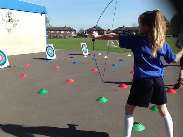 Year 2 Archery