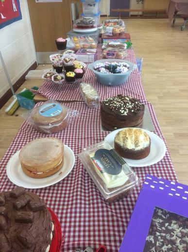 Cake stall 🍰