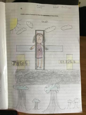 Kimberly's Jesus Christ Artwork