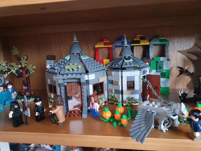 Thomas has been busy building his Harry Potter lego - it looks amazing!