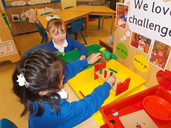 We love our challenge area.
