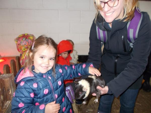 The children had a wonderful day at Stockley Farm