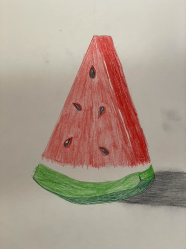 Ella's beautiful watermelon