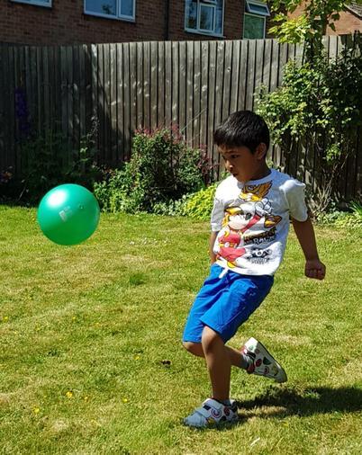 Abdullah the next Messi!