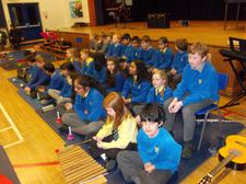Year Five Adopt-a-Musician; children performed Mendelsson's symphony at A.C.A. with three other schools. 1