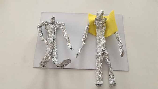 Ved's foil figures look great