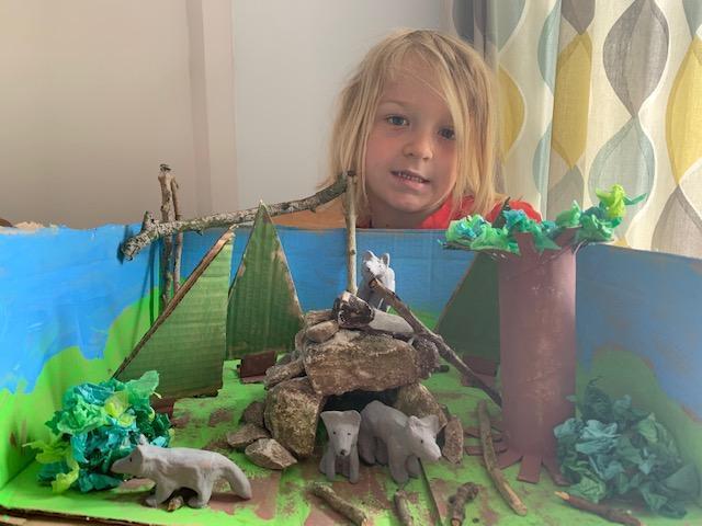 Arlo's lovely work on habitats