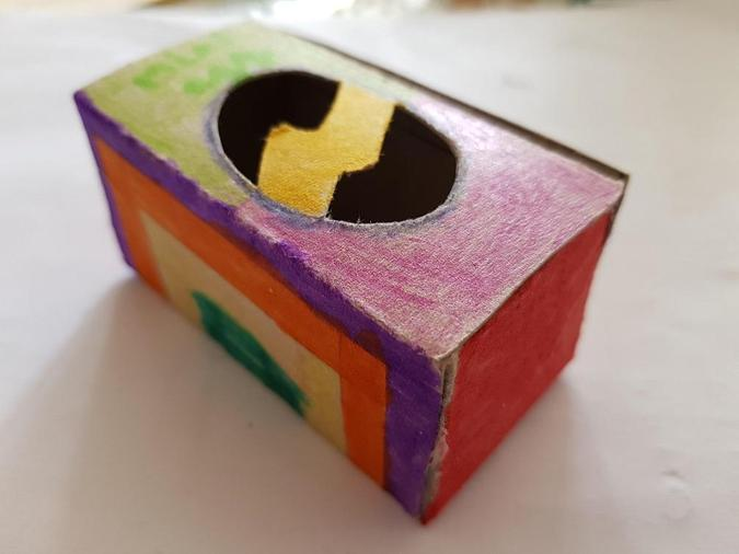 Lucy's Easter egg box - super!