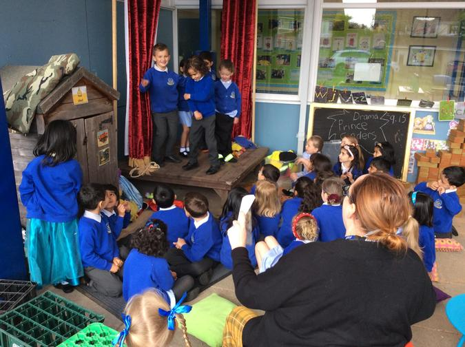 Drama activity-Prince Cinders by Babette Cole