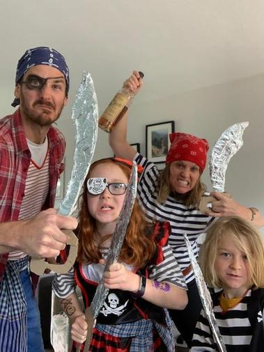 Arlo's family have been press-ganged!