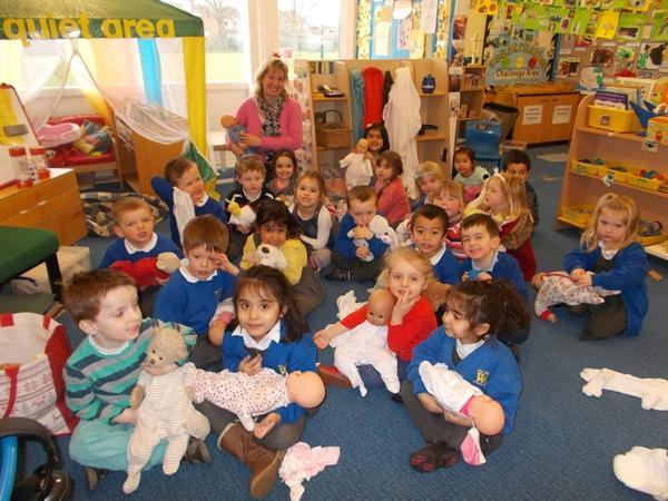 Our Midwife visit. Click below for more pictures.