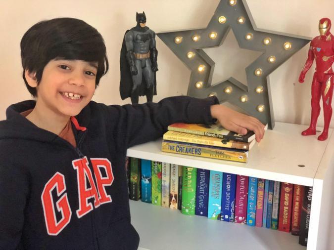 Fawzaan's reading marathon
