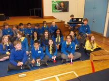 Year Five Adopt-a-Musician; children performed Mendelsson's symphony at A.C.A. with three other schools. 2