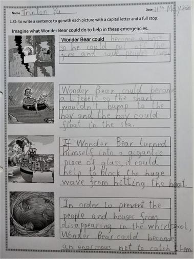 Trinton's work on complex sentences