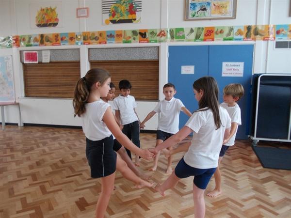 Tudor dance routines