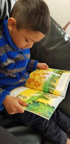 Abdullah reading