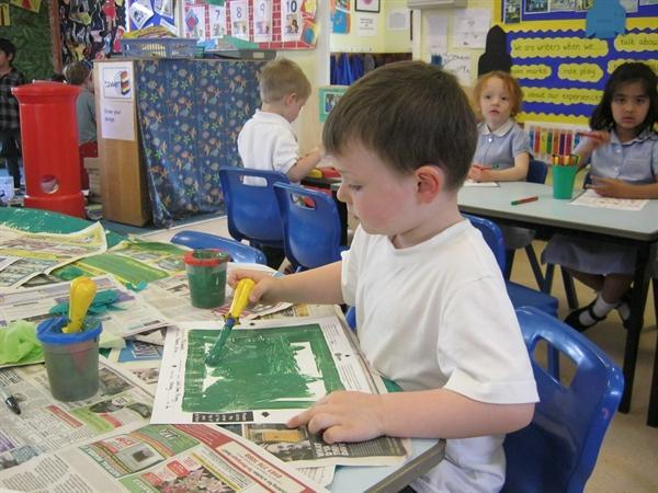 Creating our 'masterpieces' during Arts week