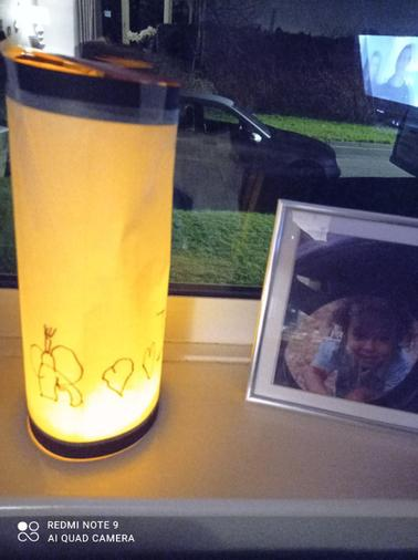 Micah's magnificent lantern