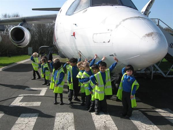 Our Class Trip to the Viewing Station.......
