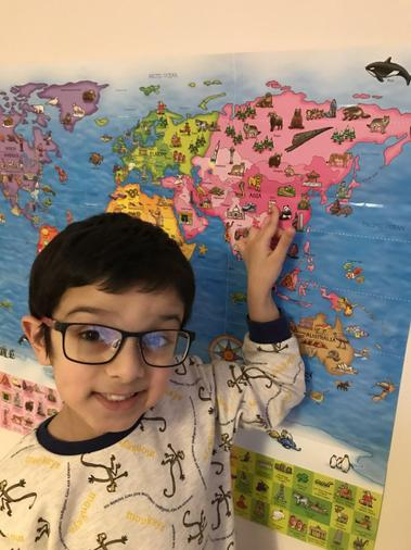 Dylan's map work