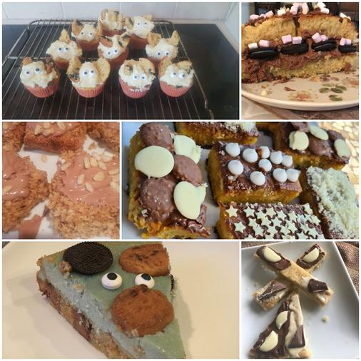 Josh has been very busy baking - delicious!