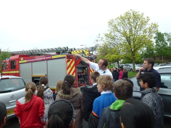 Our visit from Greater Manchester Fire Service