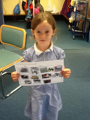 Amelie's history work
