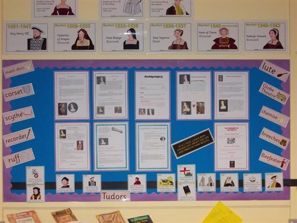 """Yr4 """"The 6 wives of Henry theVIII"""""""