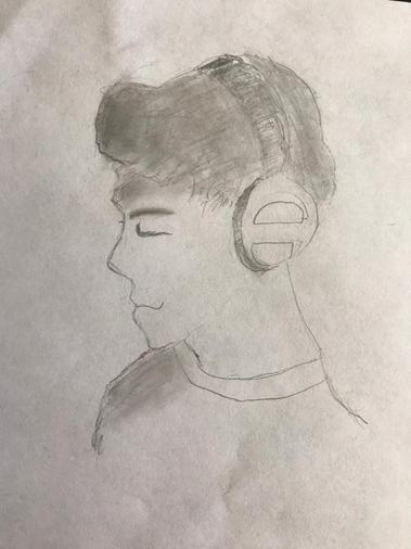Zayn's been practising his drawing - well done
