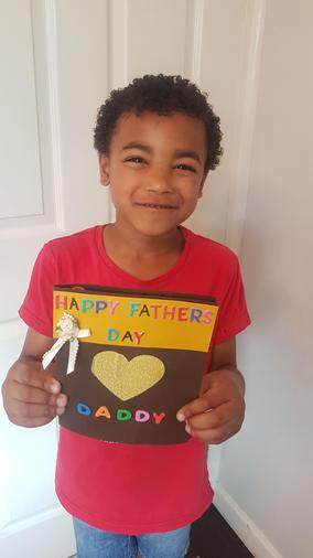 David made  a lovely Father's Day card
