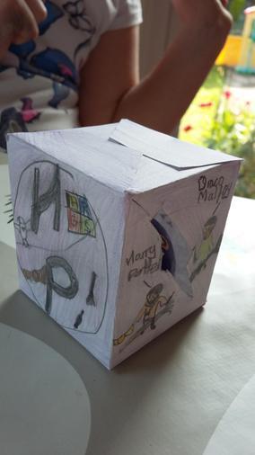 Annabel's Easter egg box - super!