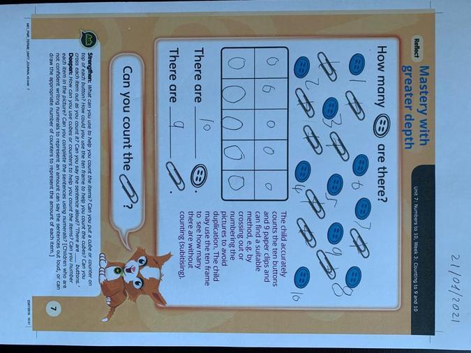 Mastery maths assessment