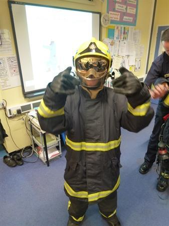 Fireman Sutcliffe looking super cool!