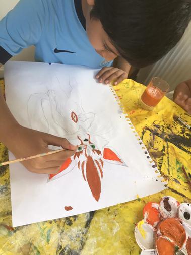 Zayn's super artwork