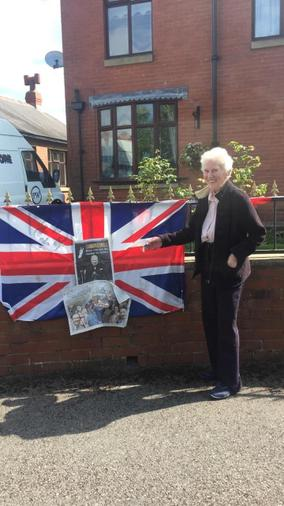 My Grandma remembering the first VE day!