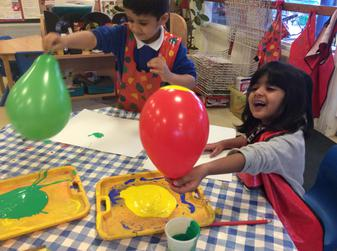 Investigating balloons 1