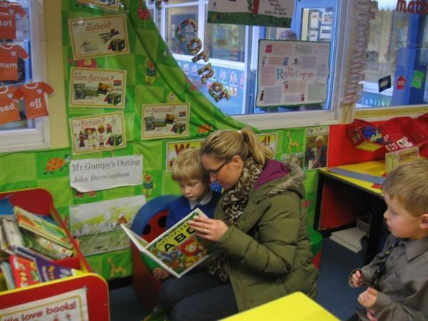 fun at our open afternoon....