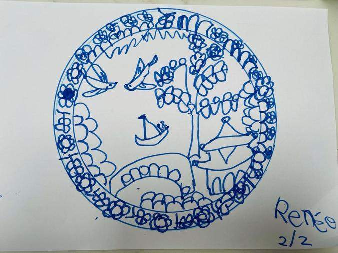 Renee's PD and EAD work on the Willow Pattern story.