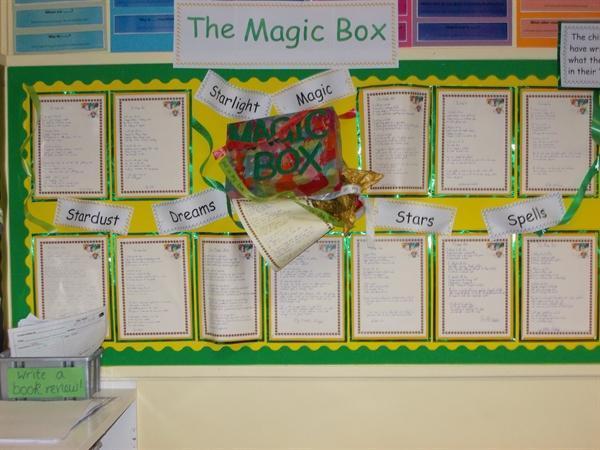 """yr3 """"The Magic Box"""""""