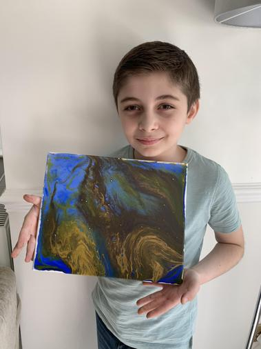A great painting by Malik