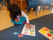 Maths puzzle day. Shape and size activities. 2