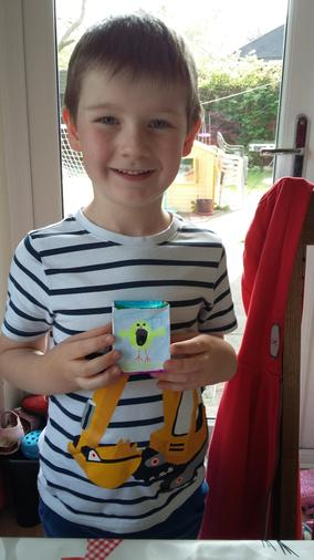 Bob's Easter egg box