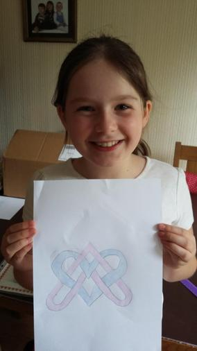 Annabel's beautiful Celtic knot