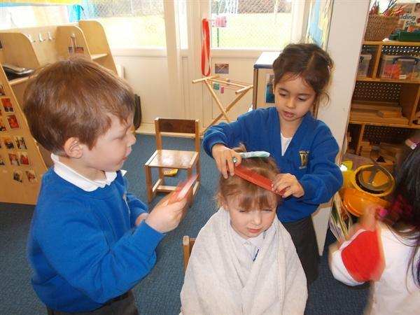 Our hairdressers is a big success!