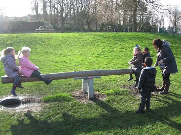 Our class trip to HaleCroft Park