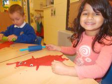 Dough is great for practising fine motor skills. 2