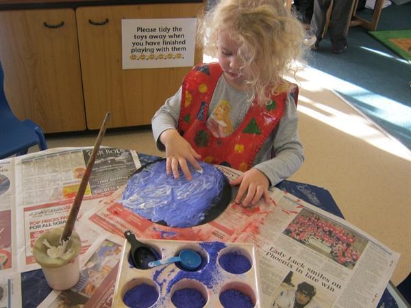 Powder paint exploration