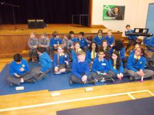 Year Five Adopt-a-Musician; children performed Mendelsson's symphony at A.C.A. with three other schools. 3