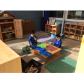 Small world-dinosaur imaginative play